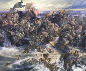 5 апреля 1242 года произошла битва на Чудском озере
