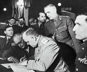 5 июня 1945 года была подписана  Декларация о поражении Германии