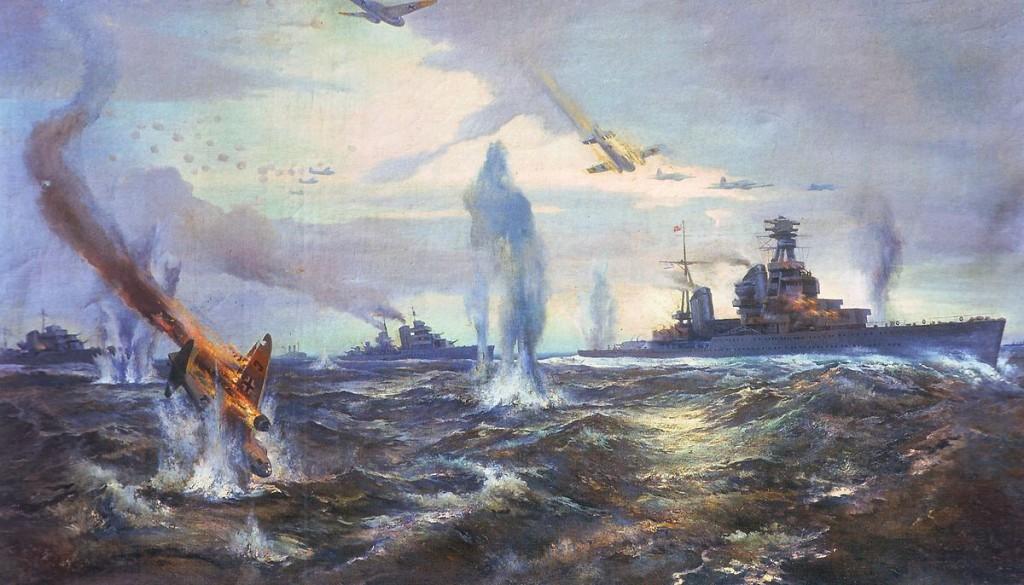 28 августа 1941 года начался Таллинский прорыв