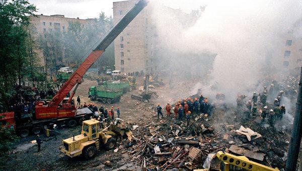 13 сентября 1999 года взорван жилой дом на Каширском шоссе