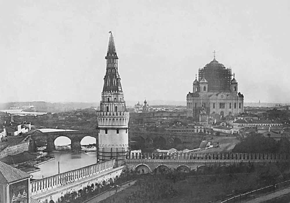 История закладки и постройки Храма Христа