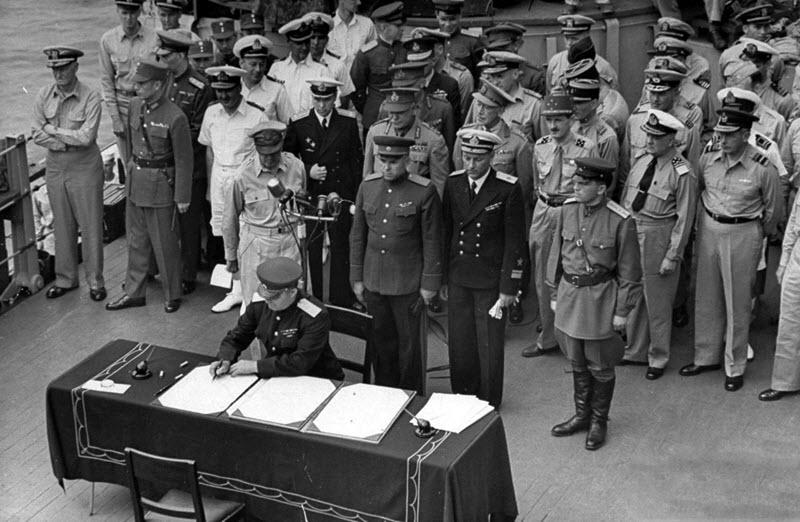 2 сентября 1945 года - день, когда закончилась Вторая мировая война