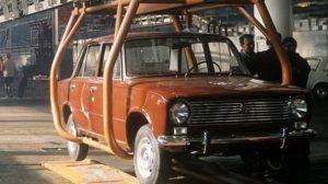 9 сентября 1970 года начат серийный выпуск «ВАЗ-2101» - «Жигули»