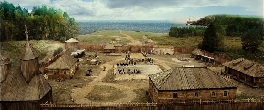 204 года Форту Росс - первому селению русских людей на Аляске