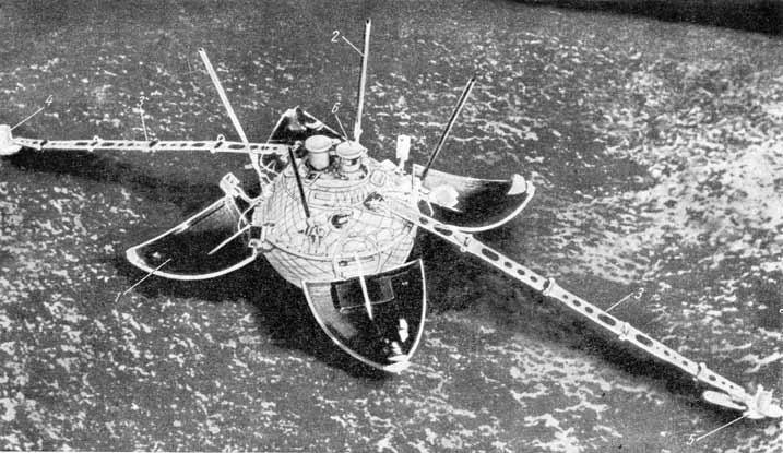 12 сентября 1959 года стартовала ракета «Восток-Л» и вывела станцию «Луна-2»