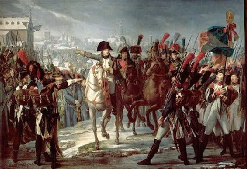 14 сентября 1812 года Армия Наполеона вошла в Москву