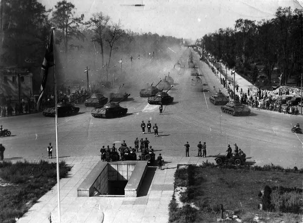 7 сентября 1945 года в Берлине состоялся парад войск стран антигитлеровской коалиции