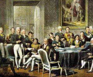 26 сентября 1815 года в Париже Австрия, Пруссия и Россия заключили Священный союз