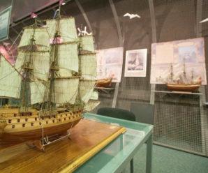 27 сентября 1783 года спущен первенец Черноморского флота России — парусный корабль «Слава Екатерины»