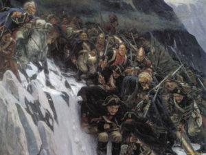 21 сентября 1799 года начался знаменитый переход Суворова через Альпы