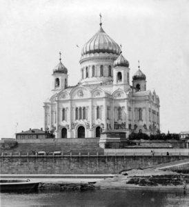 Храм Христа Спасителя в Москве 18 век