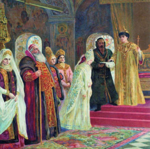 Венчание Ивана Грозного на Марфе Собакиной