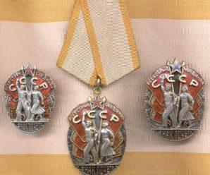 Особая награда — орден «Знак почёта»