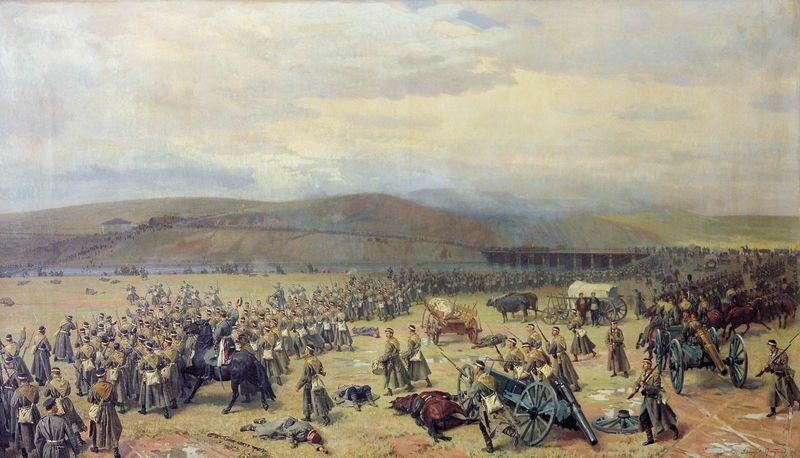10 декабря 1877 года русскими войсками взята Плевна
