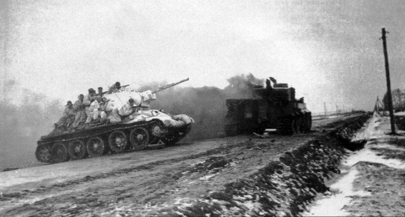 5 января 1944 года началась Кировоградская наступательная операция