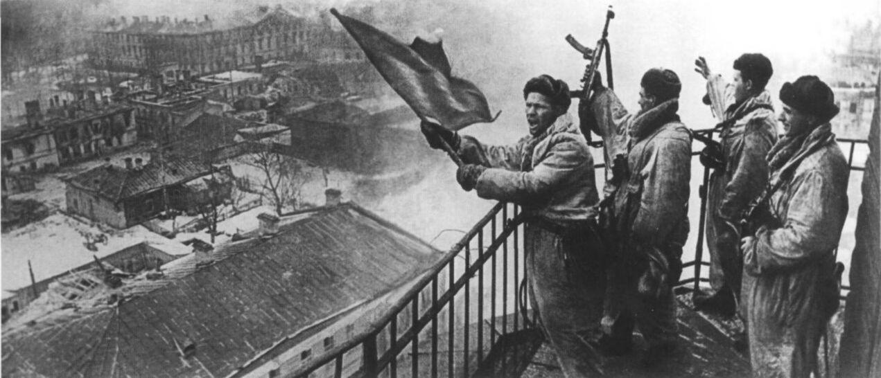 14 января 1944 года началась Ленинградско-Новгородская стратегическая наступательная операция