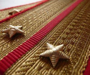 6 января 1943 года в СССР были введены погоны для личного состава Советской Армии