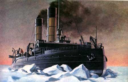 Начало Ледового похода Балтийского флота