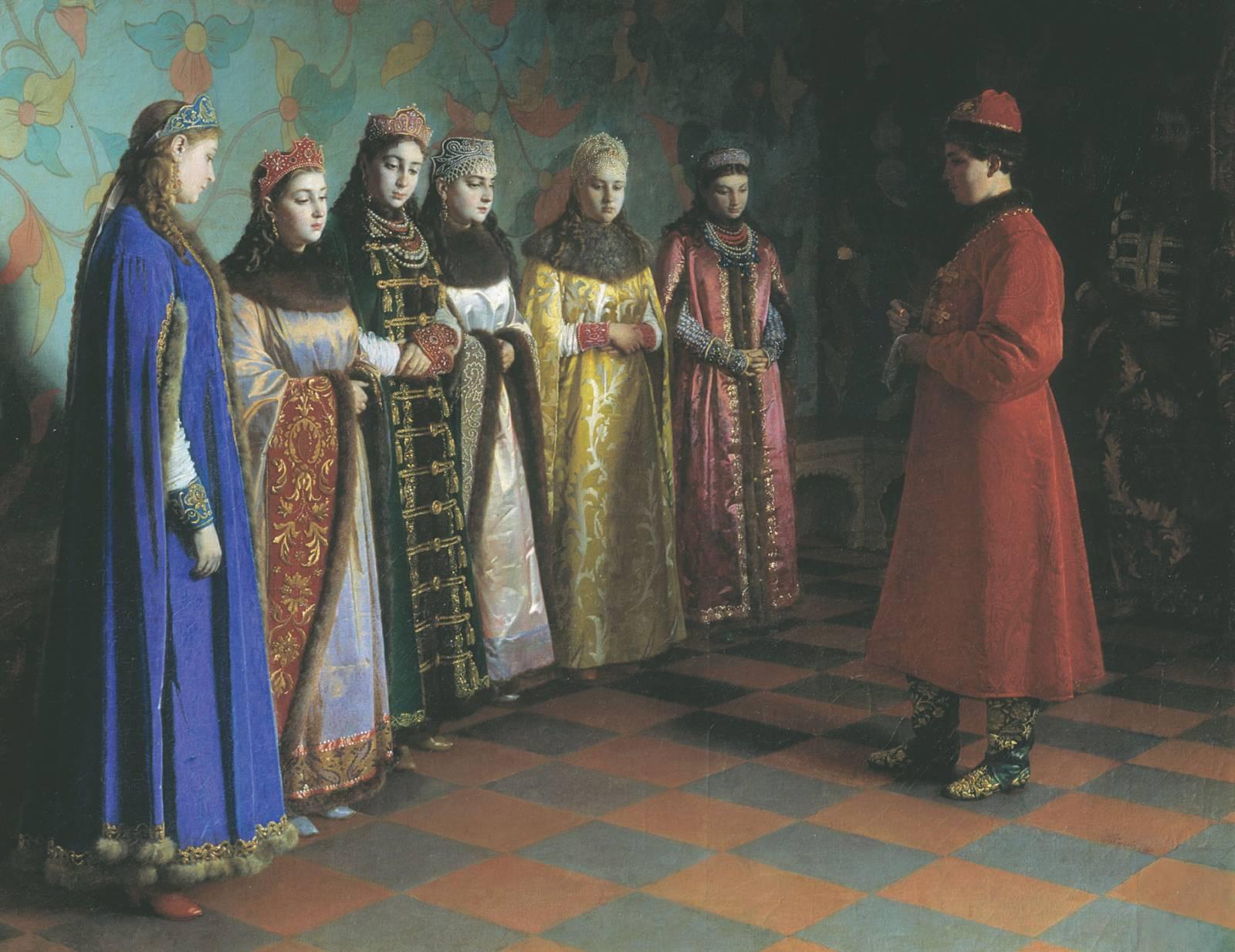 1 февраля 1671 года - свадьба царя Алексея Михайловича (Тишайшего) с Натальей Нарышкиной
