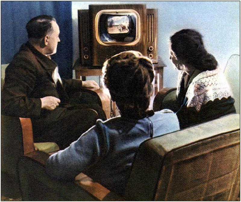 Создана первая в СССР Центральная студия телевидения