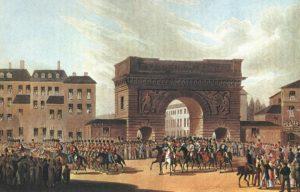 31 марта 1814 года Русские и союзные войска вступили в Париж