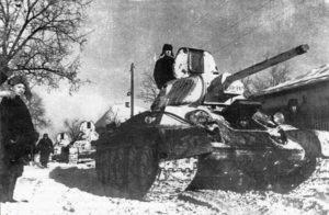 Экипаж танка под командованием Александра Фадина