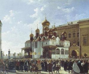 15 мая 1484 года. В Московском Кремле заложен Благовещенский собор