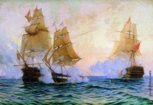 Победа русских в сражении у Босфора (1828–1829)