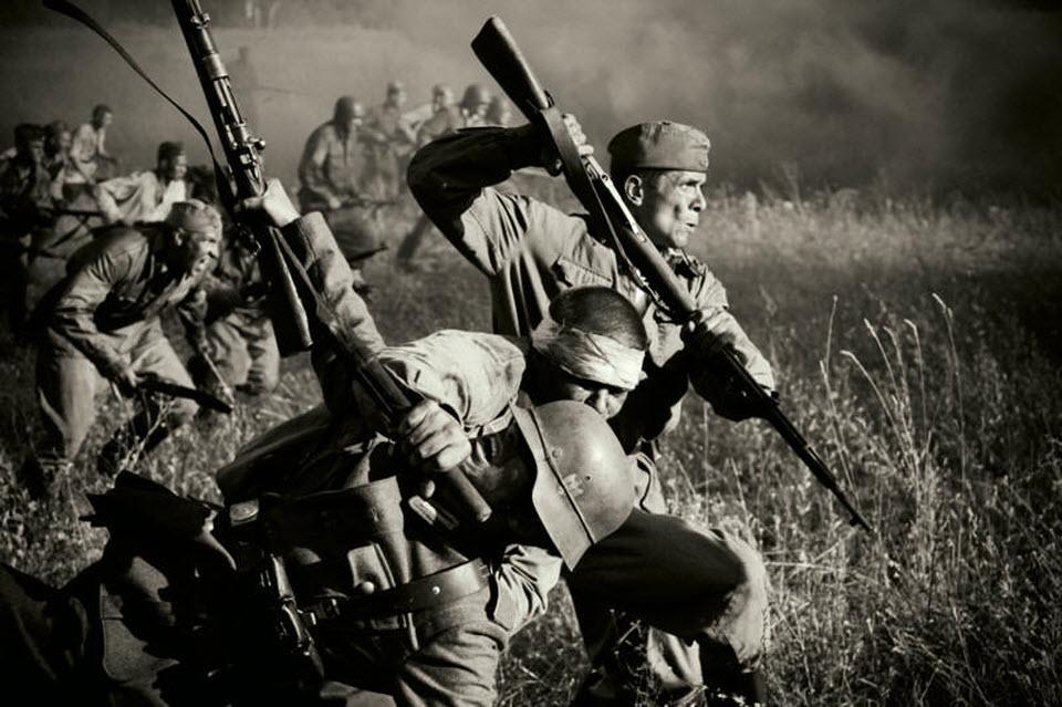 Страшное оружие русских: штыковая атака
