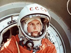 Первый космический полет женщины-космонавта Валентины Терешковой