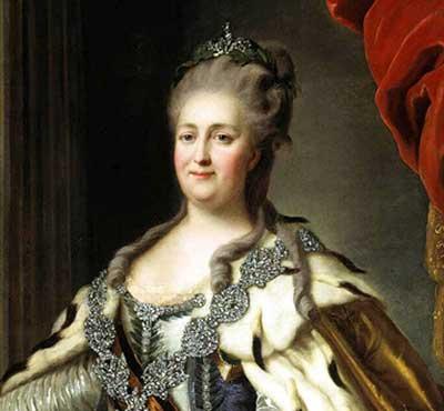 9 июля 1762 году Императрица Екатерина II заняла российский трон