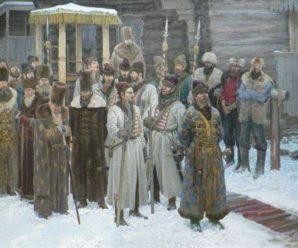 1 октября 1550 годазаложение основы русской регулярной армии
