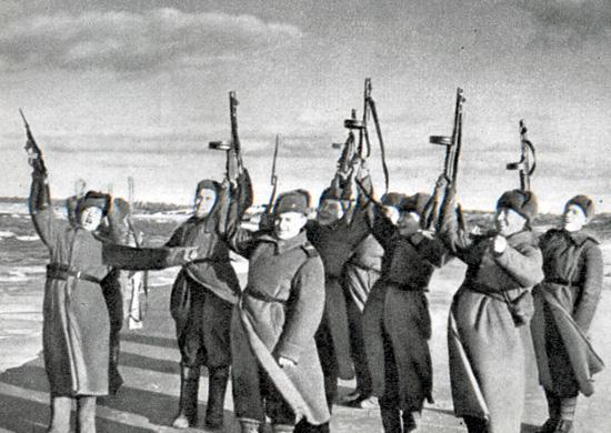 24 ноября 1944 года завершение наступательной Прибалтийской операции