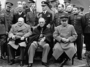 4 февраля 1945 года Началась Крымская конференция