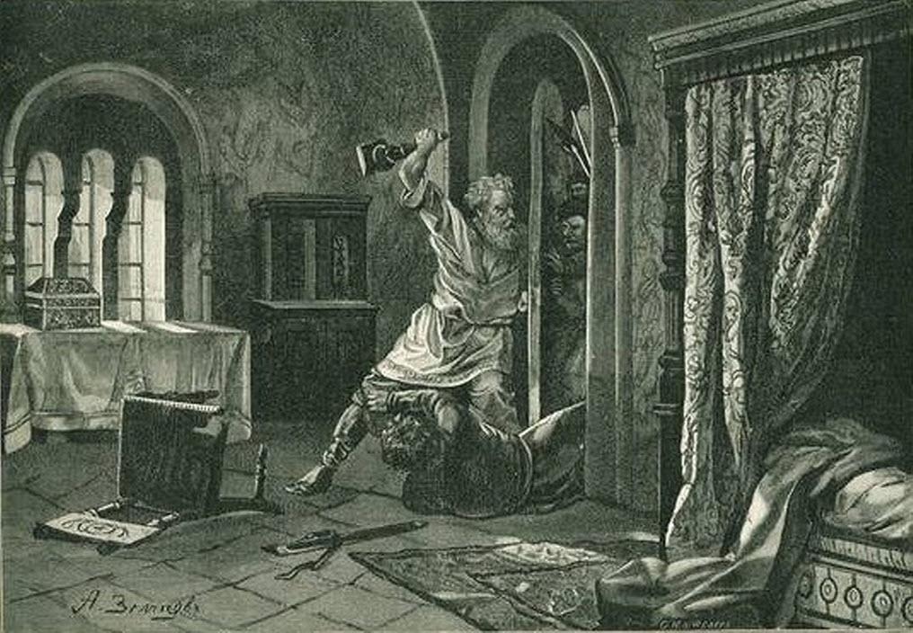 6 июля 1174 года убит князь Андрей Боголюбский