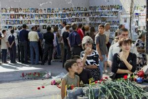 1 сентября 2004 года. Террористический акт в Беслане