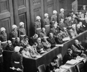 16.10.1946 года был вынесен приговор, по которому казнили нацистских преступников