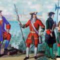 9 марта 1714 года. Петр I издал указ, запрещающий присваивать офицерские звания дворянам, не служившим рядовыми