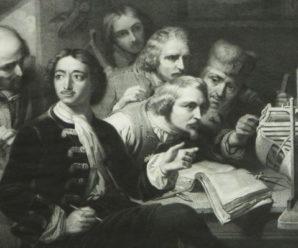 16 апреля 1722 годаПетр I открыл школы обучения мореходному делу