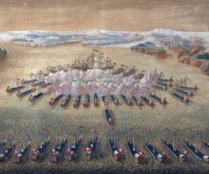 Первая в истории крупная победа русского флота над шведами в Северной войне у мыса Гангут