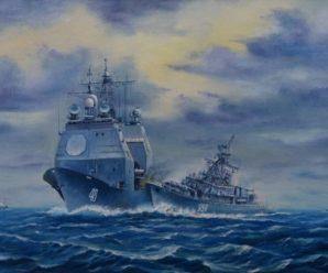 Красный навал: как два сторожевика выгнали корабли США из Черного моря