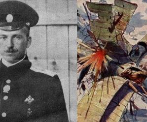Летчик-герой Нестеров. Первый в мире воздушный таран