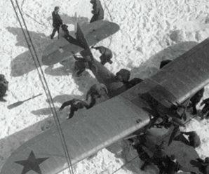 13 апреля 1934 года спасение челюскинцев в Арктике
