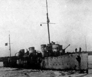 Как эсминец «Гавриил» оставил с носом корабли английских интервентов