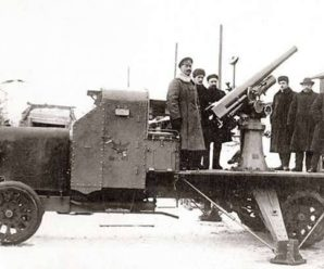 Крещение шрапнелью: в 1915 году российские зенитки прошли проверку боем