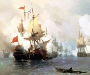 Чесменское побоище: как русские сожгли турецкий флот