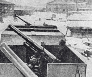 Первая противовоздушная: как в русской армии появились самоходные зенитки