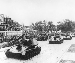 «Катюши» в Китае: парад Победы состоялся в Харбине 75 лет назад