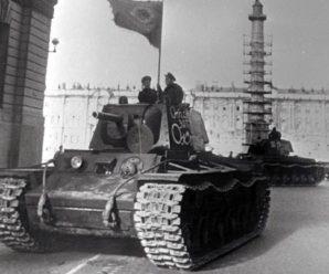 Нас оставалось только трое: как погиб 124-й танковый полк