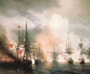 Бомбические орудия: чем русская эскадра удивила турков в Синопской бухте